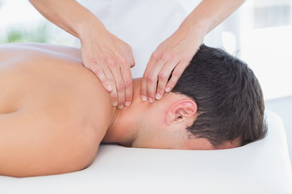 neck massage Myofascial Release